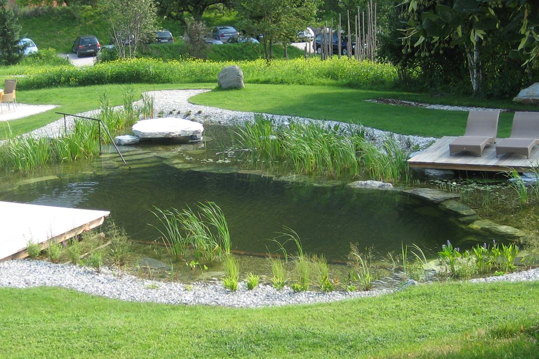 schwimmteiche platter gartenwelt garten und landschaftsbau. Black Bedroom Furniture Sets. Home Design Ideas